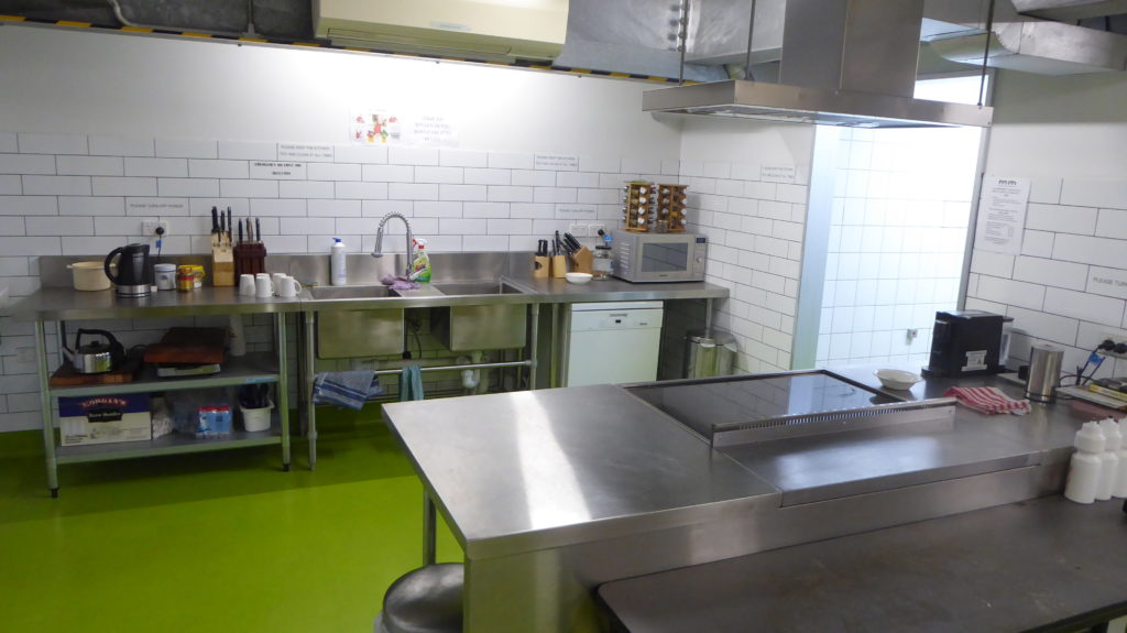 Melbourne Men's Shed kitchen