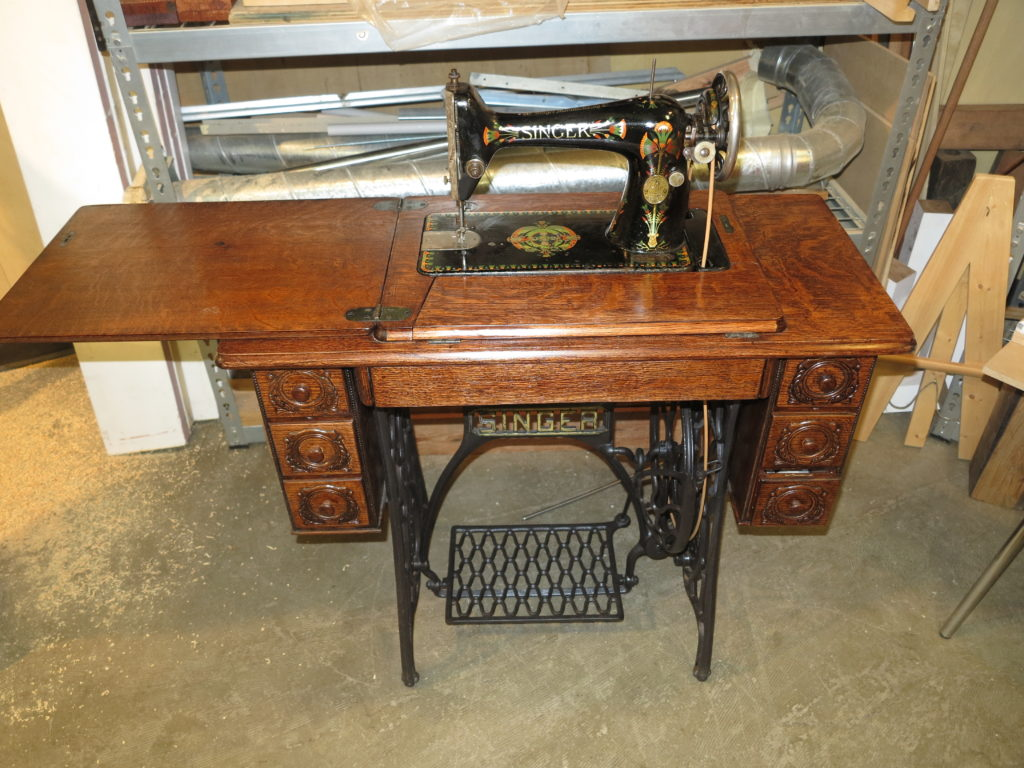 Restored Singer sewing machine