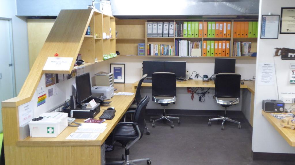 Melbourne Men's Shed office