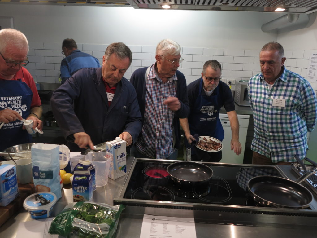 Cooking classes and lunch